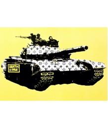 畫 - 塗鴉LV花坦克 時尚有型 部屋首選