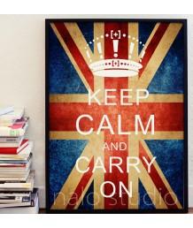 畫 - Keep calm and carry on