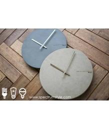 掛鐘 - 仿水泥掛鐘 獨一無二 設計獨特
