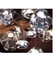 吊燈 - 經典銀色玻璃吊燈 設計特別 品味之選