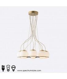 吊燈 -  現代玻璃球吊燈 優美典雅 型燈之最