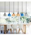 吊燈 - 經典彩色玻璃吊燈 簡單經典 潮人型燈
