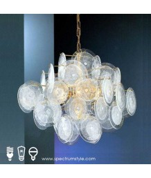 吊燈 -  現代玻璃吊燈 優美典雅 型燈之最