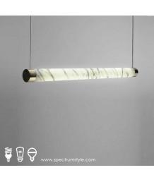 吊燈 -  現代雲石柱吊燈 優美典雅 型燈之最