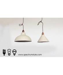 吊燈 -  手工製紙燈罩實木吊燈 簡潔優美 工業浪漫