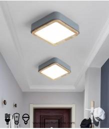 天花燈 - 現代簡約木材LED天花燈 簡約有型 環保節能