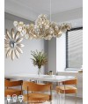 吊燈 - 經典玻璃花吊燈 簡潔優美 光影浪漫