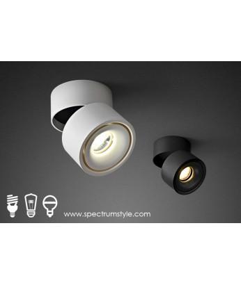 射燈 -  設計師可調角度LED射燈 顏色迷迷 潮人型燈