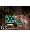 吊燈 - 3D光影玻璃吊燈 浪漫光影 品味之選