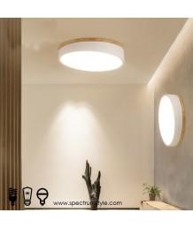 天花燈 -  木藝LED天花燈 簡約有型 潮人型燈