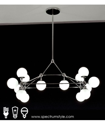吊燈 - DNA分子吊燈 型人部屋 家中亮點
