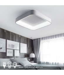 天花燈 -  簡約方型LED天花燈 潮人型燈 部屋首選