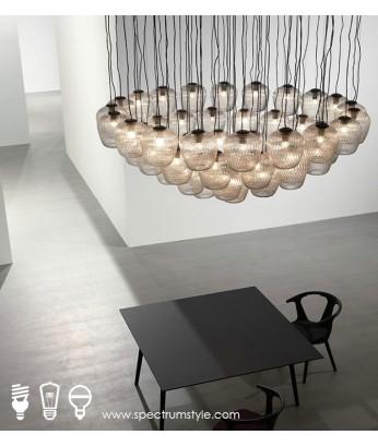 吊燈 - 經典玻璃松果吊燈 光影斑斑 潮人首選