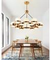 吊燈 - 現代玻璃球吊燈 型人部屋 家中亮點