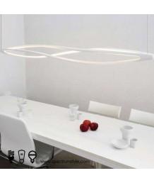 吊燈 -  現代扭紋LED吊燈 優美典雅 型燈之最