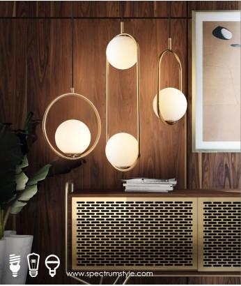 吊燈 - 現代經典線條吊燈 設計特別 豪宅首選