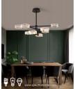 吊燈 - 現代幾何LED吊燈 簡潔優美 型人首選