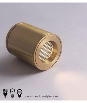 射燈 -  經典復古銅製LED射燈 品味家居 潮人型燈