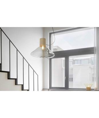 吊燈 - 經典北歐原木吊燈 簡單經典 潮人型燈