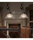 吊燈 - 復古工業升降吊燈 簡單經典 潮人型燈
