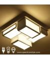 天花燈 - 簡約LED盒子吸頂燈 優美簡單 節能之選