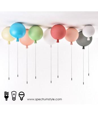 天花燈 - 氣球升空玻璃天花燈 童話世界 型燈之最
