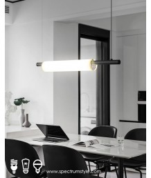 吊燈 -  現代玻璃LED吊燈 優美典雅 型燈之最