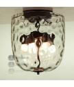 天花燈 - 經典玻璃天花燈 簡潔優美 光影迷人