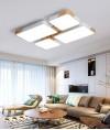 天花燈 - 馬卡龍方型組合LED天花燈 簡潔優美  潮人必購
