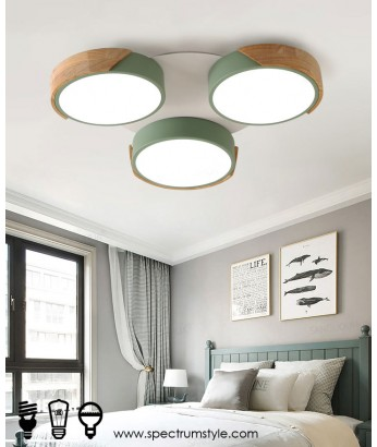 天花燈 - 馬卡龍圓型組合LED天花燈 簡潔優美  潮人必購