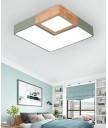 天花燈 - 設計師木藝LED天花燈 時尚輕巧 簡潔優美