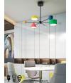 吊燈 - 北歐設計師鐵藝吊燈 經典設計 彩色誘惑
