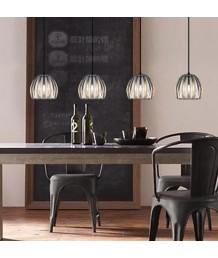 吊燈 - 水晶透明南瓜造型吊燈 田園悠然 品味之選