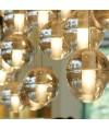吊燈 -冰玻璃頭吊燈 優美典雅 型燈之最