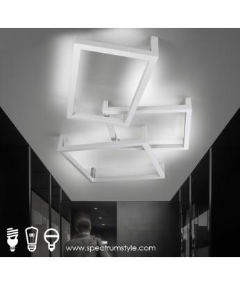 天花燈 - 創意幾何組合LED天花燈 簡潔優美  潮人必購