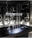 吊燈 - 玻璃鋼雙管燈罩吊燈 簡約特別 品味之選