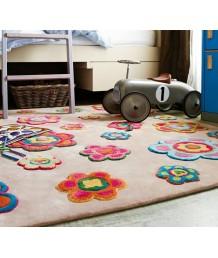 兒童地毯 - 花花地毯 可愛活潑 色彩鮮艷