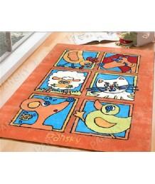 兒童地毯 - 小動物地毯 可愛活潑 色彩鮮艷 每平方呎$100 歡迎訂造