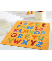 兒童地毯 - 卡通字母地毯 可愛活潑 色彩鮮艷 每平方呎$100 歡迎訂造