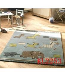 兒童地毯 - 動物地毯 活潑有型 粉色系列 每平方呎$100 歡迎訂造