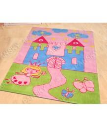 兒童地毯 - 公主城堡地毯 可愛活潑 色彩鮮艷 每平方呎$100 歡迎訂造