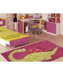 兒童地毯 - 小恐龍地毯 可愛活潑 色彩鮮艷 每平方呎$100 歡迎訂造