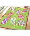 兒童地毯 - 復活蛋花貓地毯 可愛活潑 色彩鮮艷 每平方呎$100 歡迎訂造