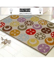 兒童地毯 - 五彩繽紛圖案地毯 可愛活潑 色彩鮮艷 每平方呎$100 歡迎訂造