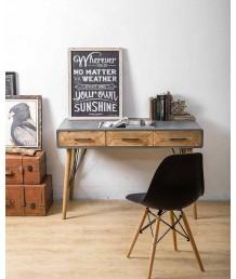 設計師檯 - 仿水泥書桌 時尚精選 部屋必備