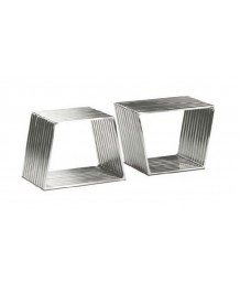 設計師檯 - 不鏽鋼幾何茶几 時尚精選 部屋必備