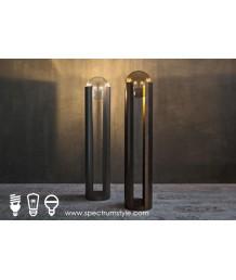 座地燈 - 經典玻璃球座地燈 品味家居 簡潔優美