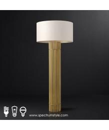 座地燈 - 經典銅製座地燈 簡單優雅 品味之選