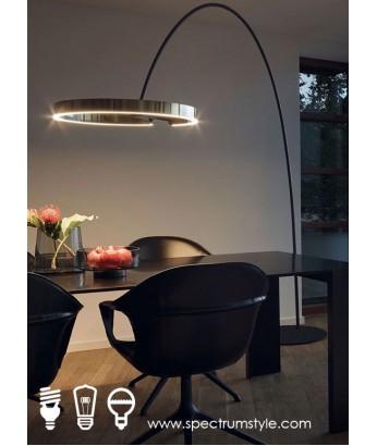 座地燈 - 現代設計師LED環座地燈 線條優雅 品味之選