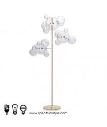 座地燈 - 玻璃泡泡座地燈 簡單優雅 品味之選